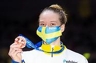 Bronze Medal<br /> HANSSONLouise SWE<br /> 100m Butterfly Women Final<br /> Swimming<br /> Budapest  - Hungary  18/5/2021<br /> Duna Arena<br /> XXXV LEN European Aquatic Championships<br /> Photo Giorgio Perottino / Deepbluemedia / Insidefoto