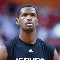 16 March 2010: San Antonio Spurs forward Antonio McDyess is seen prior to the San Antonio Spurs 88-76 victory over the Miami Heat at the AmericanAirlines  Arena, in Miami, Florida, USA.