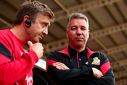 Doncaster Rovers manager Darren Ferguson and Doncaster Rovers Assistant Manager Gavin Strachan - Mandatory by-line: Robbie Stephenson/JMP - 26/07/2017 - FOOTBALL - The Keepmoat Stadium - Doncaster, England - Doncaster Rovers v Sheffield Wednesday - Pre-season friendly