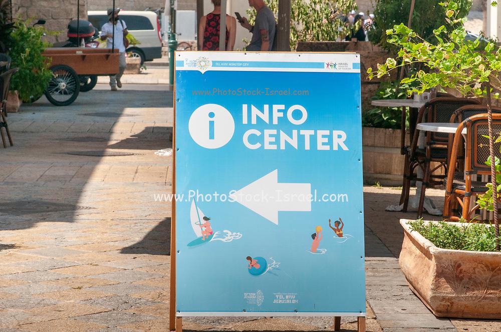 Tourist information centre, Jaffa, Israel