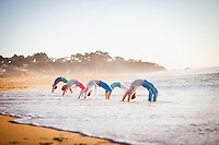 Shira Yaziv, Jaimie Harrow, Mary Chapman, Steven Schmidt & Annika Williams at Montara Beach, San Francisco
