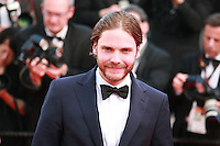 Actor Daniel Bruehl at Sils Maria gala screening red carpet at the 67th Cannes Film Festival France. Friday 23rd May 2014 in Cannes Film Festival, France.