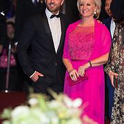 NLD/Amsterdam/20171012 - Televizier-Ring Gala 2017, Anita Meijer en Tommie Christiaan