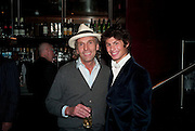ROBERT PERENO; LUCIANO PIERRE WHITE, launch of Fabulous Haircare Range, Frankie's Italian Bar and Grill, 3 Yeomans Row, off Brompton Road, London SW3, 7pm