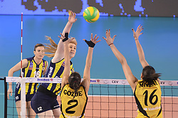 09-04-2016 ITA: CEV DenizBank Champions League Fenerbahce Grundig Istanbul - VakıfBank Istanbul, Montichiari<br /> Vakifbank wint met 3-0 en plaatst zich voor de finale / Brankica Mihajlovic of Fenerbahce Grundig Istanbul<br /> <br /> ***NETHERLANDS ONLY***
