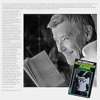 """Boka """"Fra undertykkelse til opprør"""", skrevet av Karen-Christine Friele, kom ut i 1975. Bildet ble laget i forbindelse med bokas 40-årsjubileum i 2015, samme år som Kim Friele fylte 80 år. Bildet ble utstilt på Skeiv kunsts fellesutstilling i forbindelse med Skeive dager i Oslo.<br /> <br /> A homage to the book """"Fra undertrykkelse til opprør"""" written by Karen-Christine Friele in 1975. The picture was created for an exhibition in 2015, the year the book had it's 40 years anniversary."""