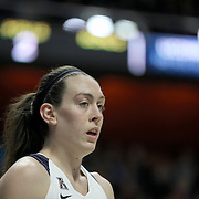 Breanna Stewart, UConn,  during the UConn Huskies Vs East Carolina Pirates Quarter Final match at the  2016 American Athletic Conference Championships. Mohegan Sun Arena, Uncasville, Connecticut, USA. 5th March 2016. Photo Tim Clayton