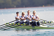 Mcc0038874 . Daily Telegraph..DT Sport.Womens Quadruple Scull left to right (bow)Beth Rodford, Melanie Wilson, Frances Houghton and (stroke)Vicky Thornley..The announcement of the GB Rowing Crews for the first World Cup.. .Reading 4 April 2012