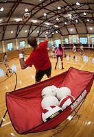 St Paul's School volleyball with Misty May Treanor. © 2013 Karen Bobotas / for St Paul's School