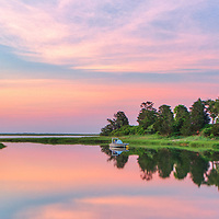 Cape Cod panorama fine art photography from along the Salt Pond trail with its scenic view across Salt Pond and Salt Pond Bay on Cape Cod, photographed on a beautiful sunrise in North Eastham, Massachusetts.<br />   <br /> Cape Cod panorama fine art photography is available as museum quality photography prints, canvas prints, acrylic prints or metal prints. Fine art prints may be framed and matted to the individual liking and decorating needs:<br /> <br /> https://juergen-roth.pixels.com/featured/sunrise-panorama-at-cape-cod-salt-pond-bay-juergen-roth.html<br /> <br /> All Cape Cod digital photography image licensing is available at www.RothGalleries.com. Please contact Juergen with any questions or request. <br /> <br /> <br /> Good light and happy photo making!<br /> <br /> Juergen