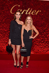 Left to right, Frankie Herbert and Hum Fleming at The Cartier Racing Awards 2018 held at The Dorchester, Park Lane, England. 13 November 2018. <br /> <br /> ***For fees please contact us prior to publication***