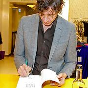 NLD/Amsterdam/20120310 - Feest der Letteren 2012 , Peter Buwalda