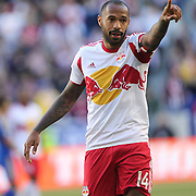 Thierry Henry, New York Red Bulls, in action during the New York Red Bulls V Colorado Rapids, Major League Soccer regular season match at Red Bull Arena, Harrison, New Jersey. USA. 15th March 2014. Photo Tim Clayton