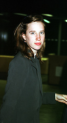 LADY FRANCES ARMSTRONG-JONES at a party in<br />  London on 11th May 2000.OSY 116