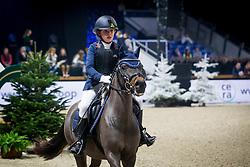 Vlekken Paulien, BEL, Lila van den Hoek<br /> Jumping Mechelen 2019<br /> © Hippo Foto - Sharon Vandeput<br /> 26/12/19