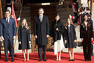 020320 Spanish Royals Attend Opening of the 14th Legislature