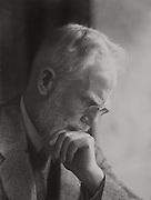 George Bernard Shaw, Irish Author and Playwright, 1930