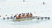 Eton Dorney, Windsor, Great Britain,..2012 London Olympic Regatta, Dorney Lake. Eton Rowing Centre, Berkshire[ Rowing]...Description; . AUS. M8+.  Start Area, Crews Training. 13:45:58   Wednesday  25/07/2012..[Mandatory Credit: Peter Spurrier/Intersport Images].