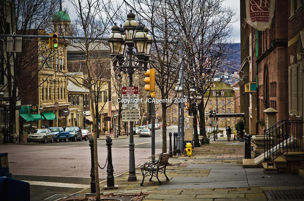 Main Street Bethlehem Pennsylvania Lehigh Valley