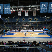 Anadolu Efes's and Bandirma Kirmizi's during their Turkish Basketball League match Anadolu Efes between Bandirma Kirmizi at Sinan Erdem Arena in Istanbul, Turkey, Saturday, December 24, 2011. Photo by TURKPIX