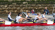 Putney, Great Britain, 23rd March 2019, Pre Boat Race Fixture, Oxford University Women's Boat Club vs Molesey Boat Club, Championship Course, River Thames,   England, [Mandatory Credit; Peter Spurrier/Intersport-images], OUWBC<br /> Stroke: Amelia Standing<br /> 7. Tina Christmann<br /> 6. Beth Bridgman<br /> 5. Liv Pryer<br /> 4. Lizzie Polgreen<br /> 3. Renée Koolschijn<br /> 2. Anna Murgatroyd<br /> Bow. Issy Dodds<br /> Cox. Eleanor Shearer