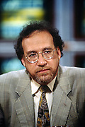 American journalist and writer Richard Ben Cramer appears on NBC's Meet the Press talk show May 5, 1996 in Washington, DC.