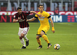 September 17, 2017 - Milan, Italy - Mateo Musacchio (A.C. Milan) during Serie A match between Milan v Udinese, in Milan, on September 17, 2017  (Credit Image: © Loris Roselli/NurPhoto via ZUMA Press)