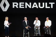 JÈrÙme Stoll , Bob Bell is appointed F1 Chief Technical Officer and will manage the efforts of Nick Chester as Chassis Technical Director and RÈmi Taffin as Engine Technical Director<br /> PARIS, RENAULT Formula 1 team presentation, Formel 1 Grand Prix Team Vorstellung in Frankreich <br />  fee liable image - Photo Credit: © ATP / GROMIK Thierry