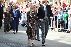 Mollie King arriving at York Minster for the wedding of singer Ellie Goulding to Caspar Jopling.
