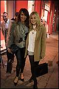LIZZIE CUNDY; SIAN WELBY, Cahoots club launch party, 13 Kingly Court, London, W1B 5PW  26 February 2015