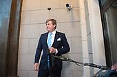 Koning Willem Alexander geeft persverklaring