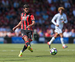 Andrew Surman of Bournemouth in action - Rogan Thomson/JMP - 14/08/2016 - FOOTBALL - Vitality Stadium - Bournemouth, England - Bournemouth v Manchester United - Premier League Opening Weekend.