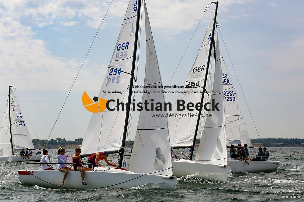 , Travemünder Woche 19. - 28.07.2019, J70 - GER 294 -  - Maike ROOS - Segler-Vereinigung Wuppertal e. V. Sabine Isringhaus