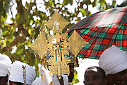 Africa, Ethiopia, Axum, Timket ceremony, Baptizing ceremony at the pool of holy water 2010