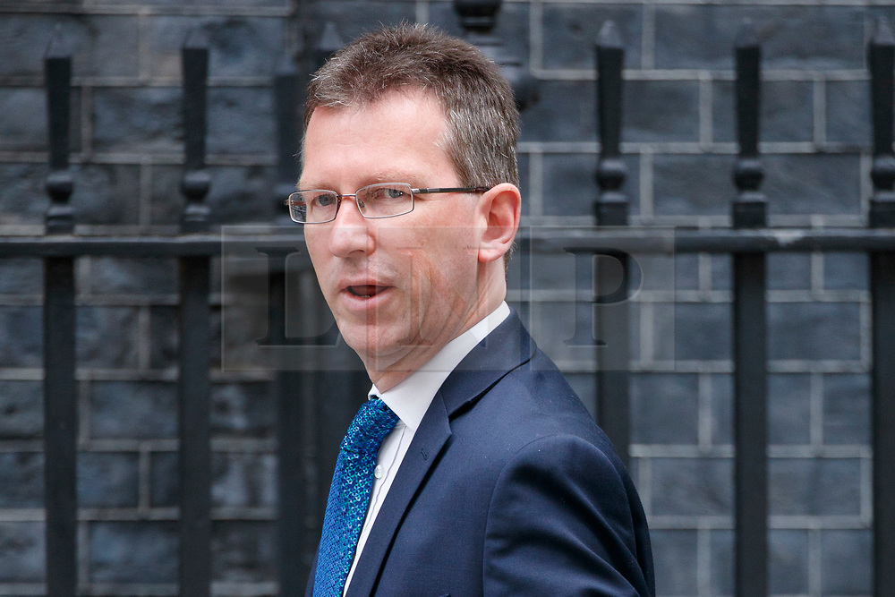 © Licensed to London News Pictures. 11/07/2017. London, UK. Attorney General JEREMY WRIGHT attends a cabinet meeting in Downing Street, London on Tuesday, 11 July 2017. Photo credit: Tolga Akmen/LNP