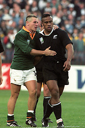 JAMES SMALL, SOUTH AFRICA, CONSOLES NEW ZEALAND LOSER JONAH LOMU