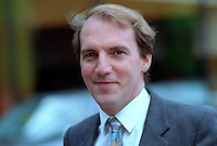 Simon Hughes, MP, Liberal Democrats, UK, 19920905SH.<br />
