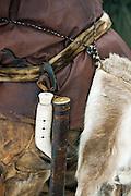 Basic tools of a dog musher in Karasjok, Finnmark region, northern Norway