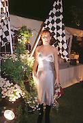 Tara Palmer-Tompkinson at the Louis Vuitton Concours d'Elegance Ô98. Hurlingham, London. 6/6/98. <br />© Copyright Photograph by Dafydd Jones<br />66 Stockwell Park Rd. London SW9 0DA<br />Tel 0171 733 0108