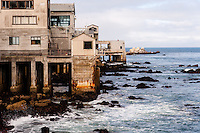 United States, California, Monterey. The waterfront in the city of Monterey.