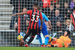 14 January 2018 -  Premier League - AFC Bournemouth v Arsenal - Jordon Ibe of AFC Bournemouth scores their 2nd goal - Photo: Marc Atkins/Offside