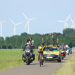 EMMEN (NED) June 16: <br />CYCLING<br />Tom Dumoulin wins his 4th timetrail title