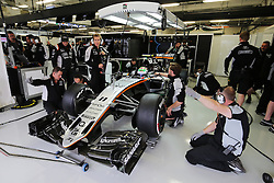 Sergio Perez (MEX) Sahara Force India F1 VJM09.<br /> 28.10.2016. Formula 1 World Championship, Rd 19, Mexican Grand Prix, Mexico City, Mexico, Practice Day.<br /> Copyright: Moy / XPB Images / action press