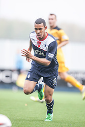 Falkirk's Phil Roberts.<br /> Falkirk 1 v 2 Dumbarton, Scottish Championship game played today at the Falkirk Stadium.<br /> ©Michael Schofield.