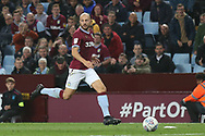 Alan Hutton of Aston Villa (21) during the EFL Sky Bet Championship match between Aston Villa and Rotherham United at Villa Park, Birmingham, England on 18 September 2018.