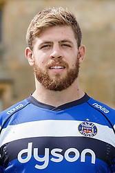 Dave Attwood of Bath Rugby poses for a head shot at the club's training ground - Photo mandatory by-line: Rogan Thomson/JMP - 28/08/2014 - SPORT - RUGBY UNION - Farleigh House, Bath - Bath Rugby Media Day 2014/15 - Aviva Premiership.
