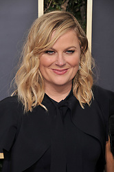Amy Poehler at the 75th Golden Globe Awards held at the Beverly Hilton in Beverly Hills, CA on January 7, 2018.<br /><br />(Photo by Sthanlee Mirador)