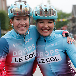 VELDHOVEN (NED) July 3: CYCLING:Omloop der Kempen: Maike van der Duin: Marjolein van't Geloof
