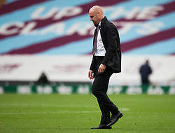 Burnley manager Sean Dyche looks dejected at the final whistle - Mandatory by-line: Jack Phillips/JMP - 05/07/2020 - FOOTBALL - Turf Moor - Burnley, England - Burnley v Sheffield United - English Premier League