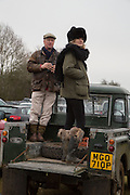 MARTIN STRUTT; TILLY MILLER-MUNDY, Heythrop Point to Point. At a  new course at Cocklebarrow near Aldsworth. 11 January 2014